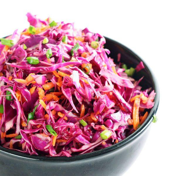 Rodekool salade